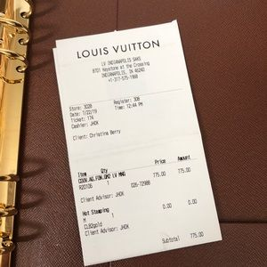 Louis Vuitton Accessories - Authentic Louis Vuitton GM Agenda • Like New